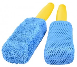 egge 2 x szczotka z mikrofibry do felg detailing Microfibre 2-Pack Ultra Soft Wheel Brush Set